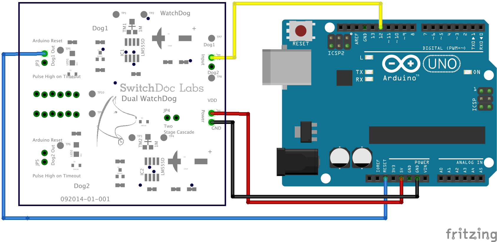 Dual watchdog timer switchdoc labs