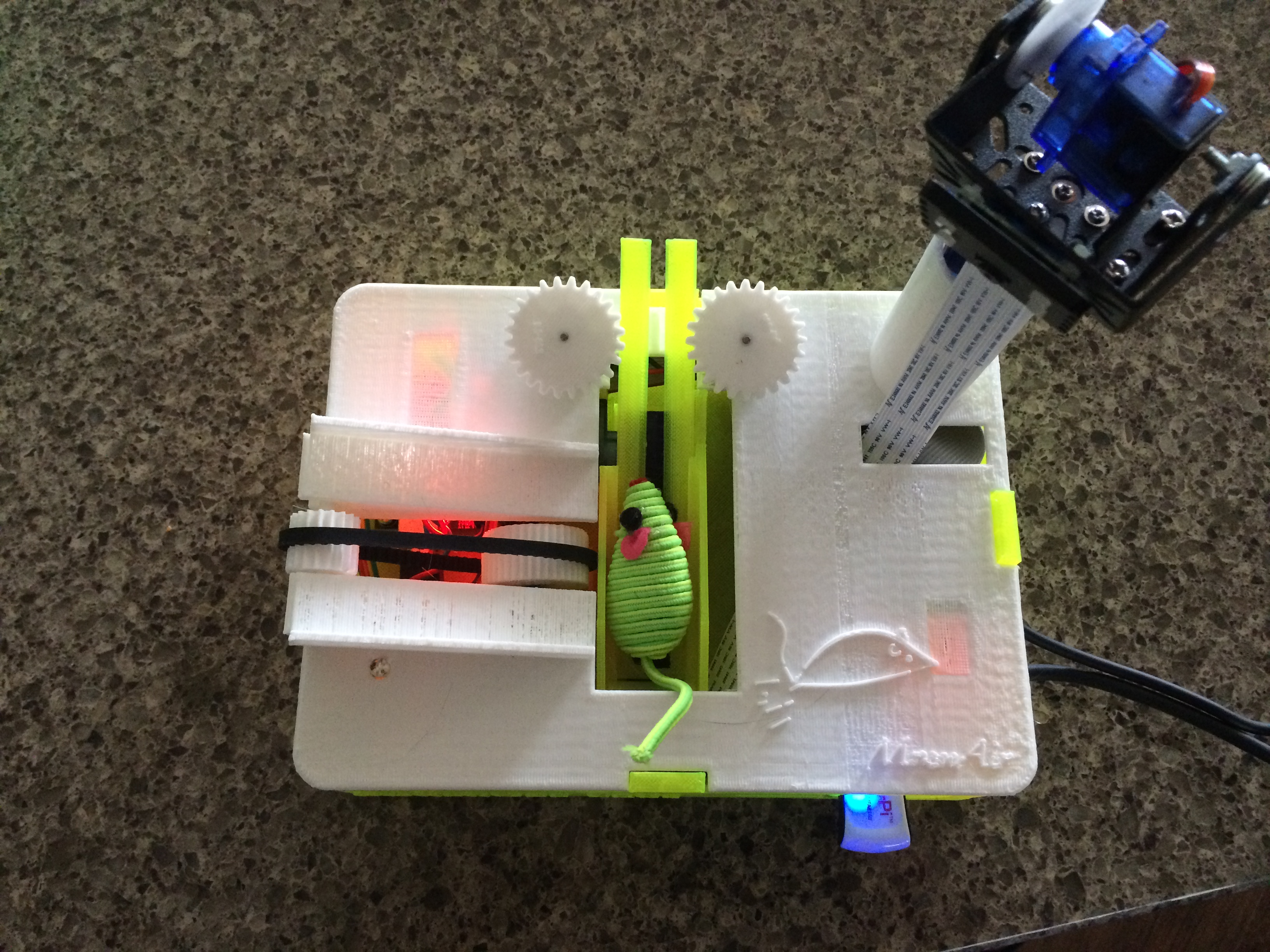 3D Printing MouseAir V2 – Part 1 / Raspberry Pi Project