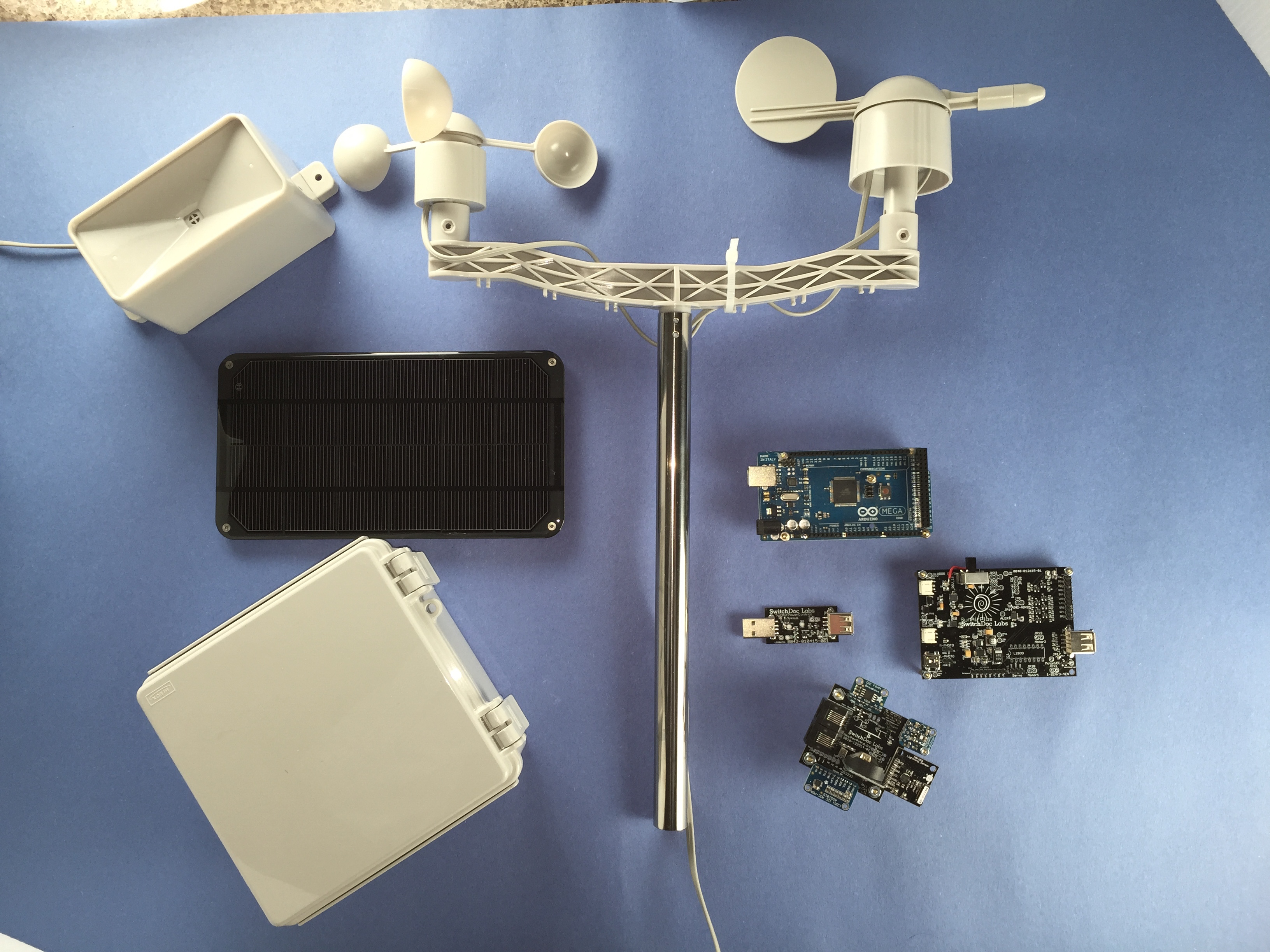 Solar Power, Weather and the Raspberry Pi - SwitchDoc Labs