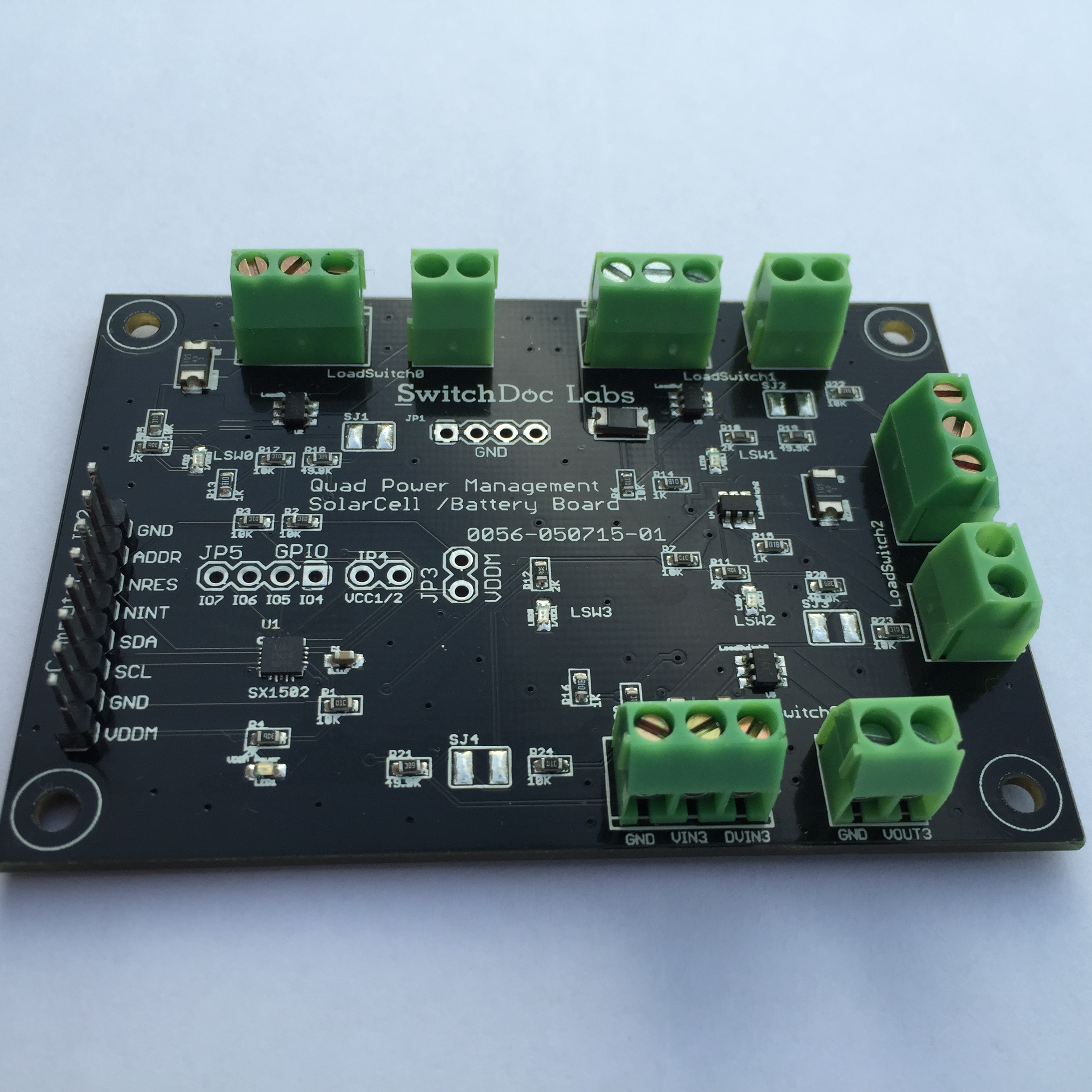 Quad Power Management Board Pure Python Drivers Released for Raspberry Pi