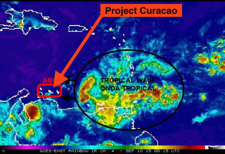 Big Storm Heads for Project Curacao! Raspberry Pi Beware!