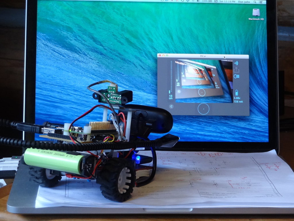 Guest Blog:   Using the Pi Platter in a Raspberry Pi Based Robotic Car