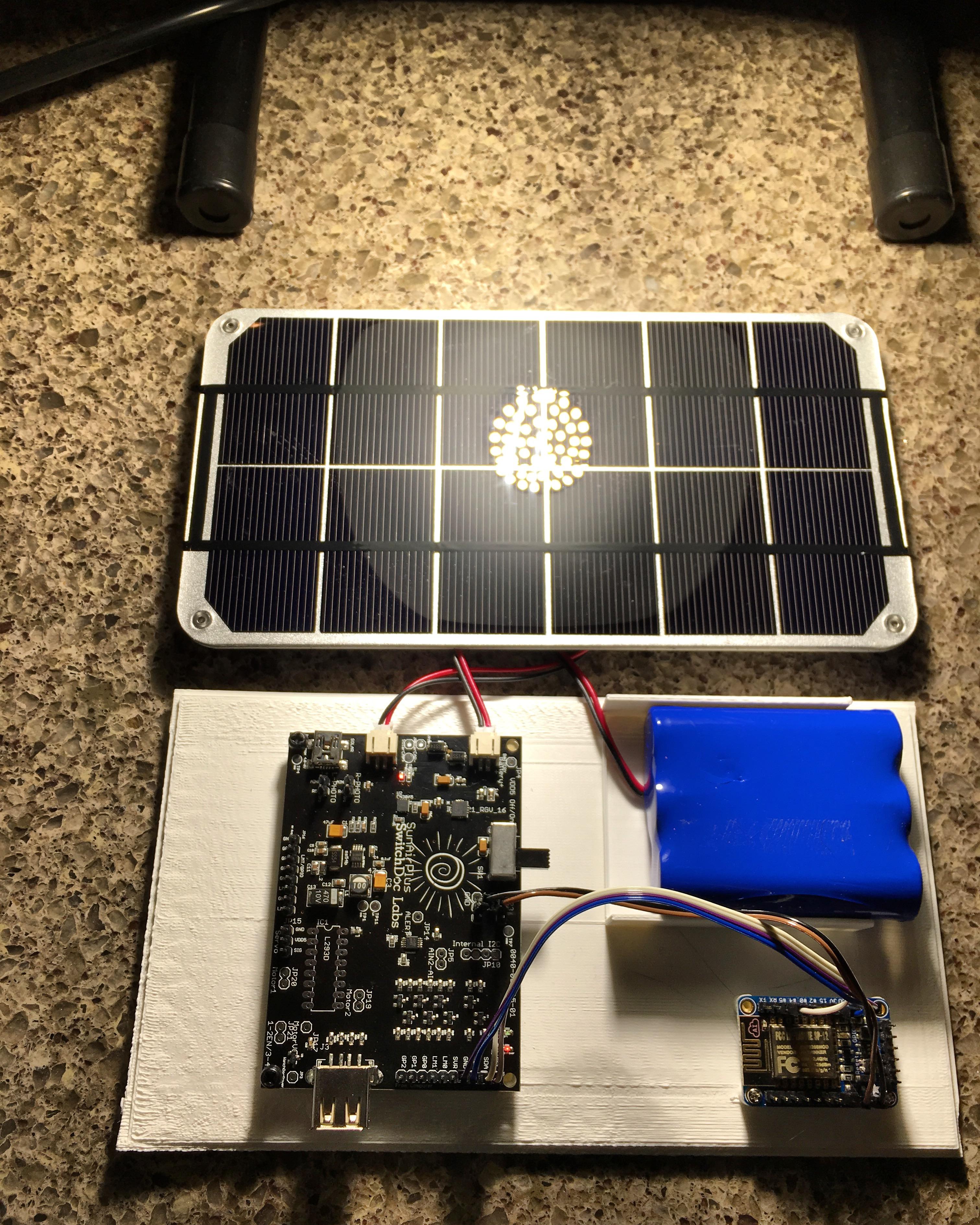 IOT ESP8266 Tutorial – Solar Power your ESP8266! #1