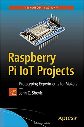Raspberry Pi IOT Projects Book Published