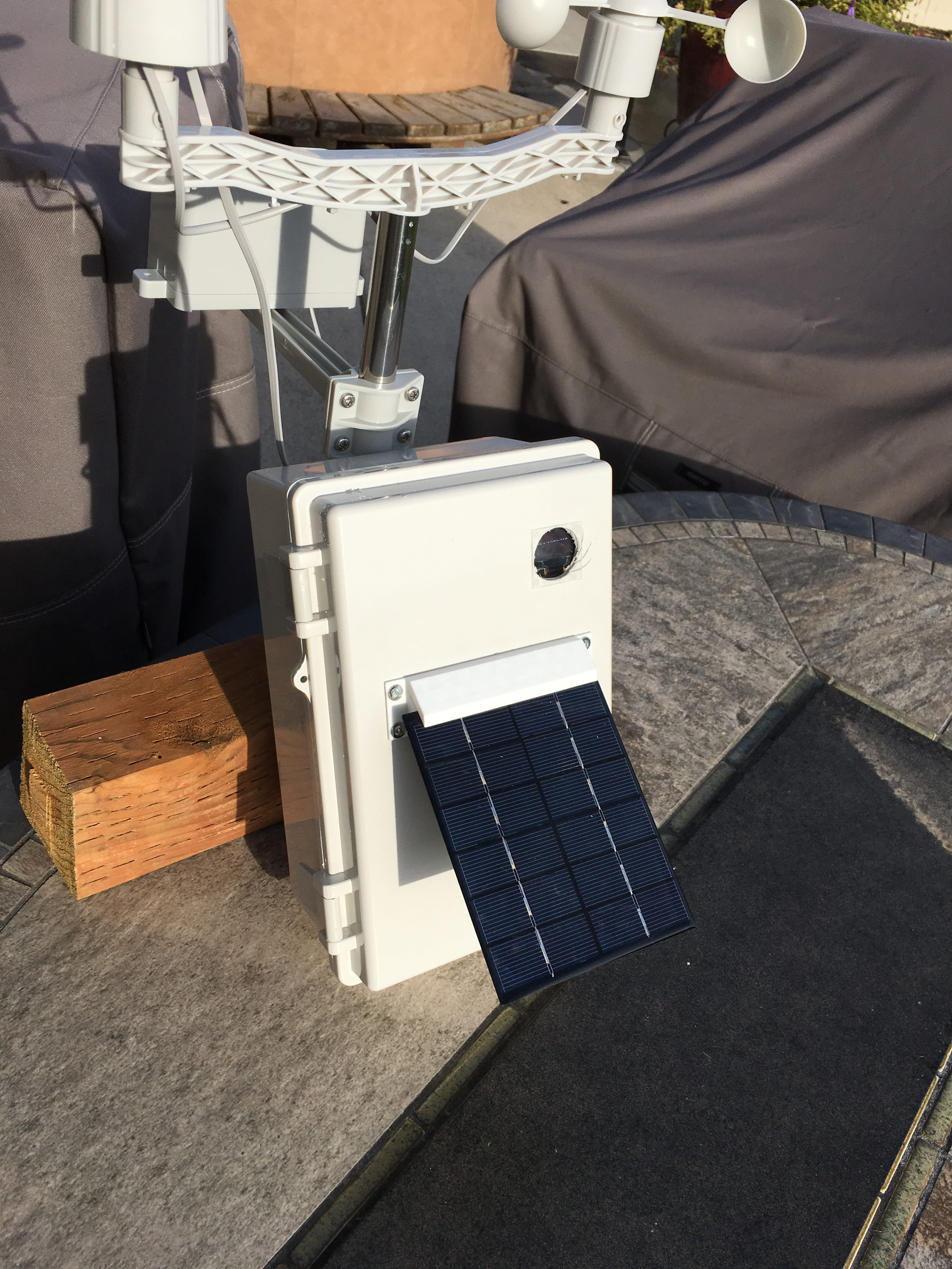 OurWeather – Solar Power Extender Kit First Tests